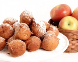 Apple Fritter Recipe – Laura Vitale – Laura in the Kitchen Episode 838