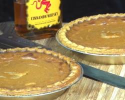 Fireball Whiskey Pumpkin Pie recipe by the BBQ Pit Boys