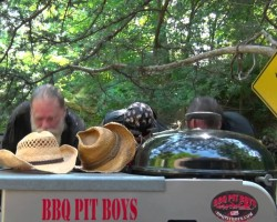 Ice Bucket Challenge for ALS by the BBQ Pit Boys