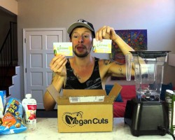 Vegan Cuts Snack Box Unboxing Video (with Cat Cameos!)