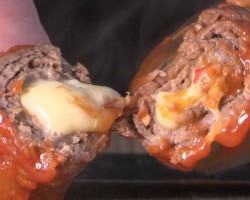Sriracha Steak and Cheese Rolls