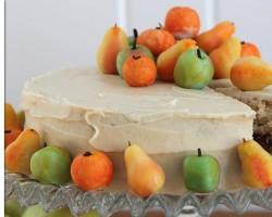 Apple Cake |  Fall Harvest Cake