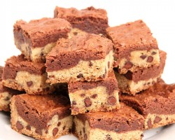 Cookie Dough Brownies Recipe – Laura Vitale – Laura in the Kitchen Episode 899