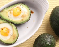 Avocado Baked Eggs Recipe – Laura Vitale – Laura in the Kitchen Episode