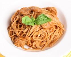 One Pot Single Step Spaghetti Recipe – Laura Vitale – Laura in the Kitchen Episode