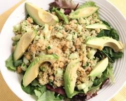 Quinoa & Avocado Salad Recipe – Laura Vitale – Laura in the Kitchen Episode