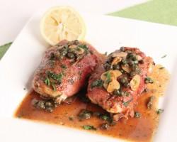 Prosciutto Wrapped Chicken Piccata Recipe – Laura Vitale – Laura in the Kitchen Episode 994