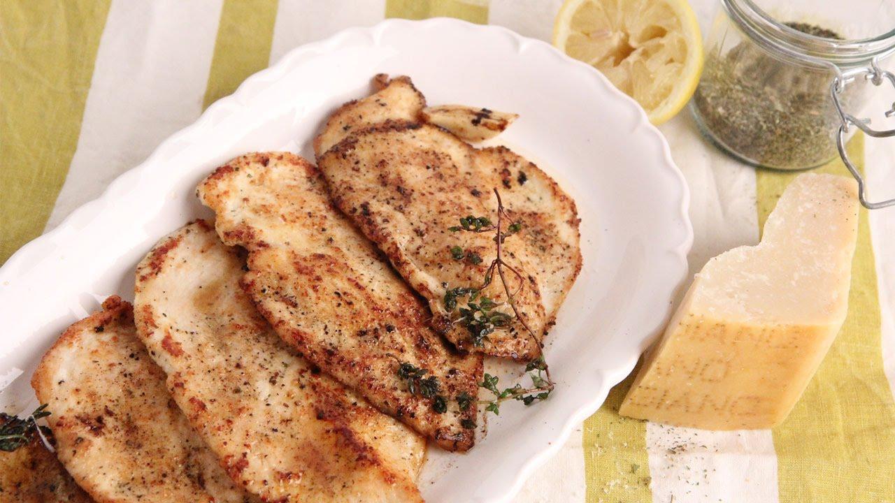 Parmesan Sauteed Chicken Recipe Episode 1061