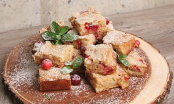 Cranberry White Chocolate Blondies | Episode 1120