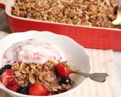 Baked Coconut Berry Oatmeal   Episode 1130