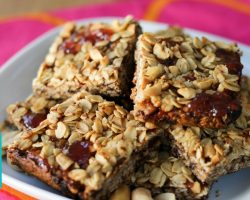 PBJ Bars with Chef Baby! Hilah Cooking