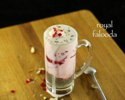 falooda recipe | royal falooda recipe | falooda ice cream recipe