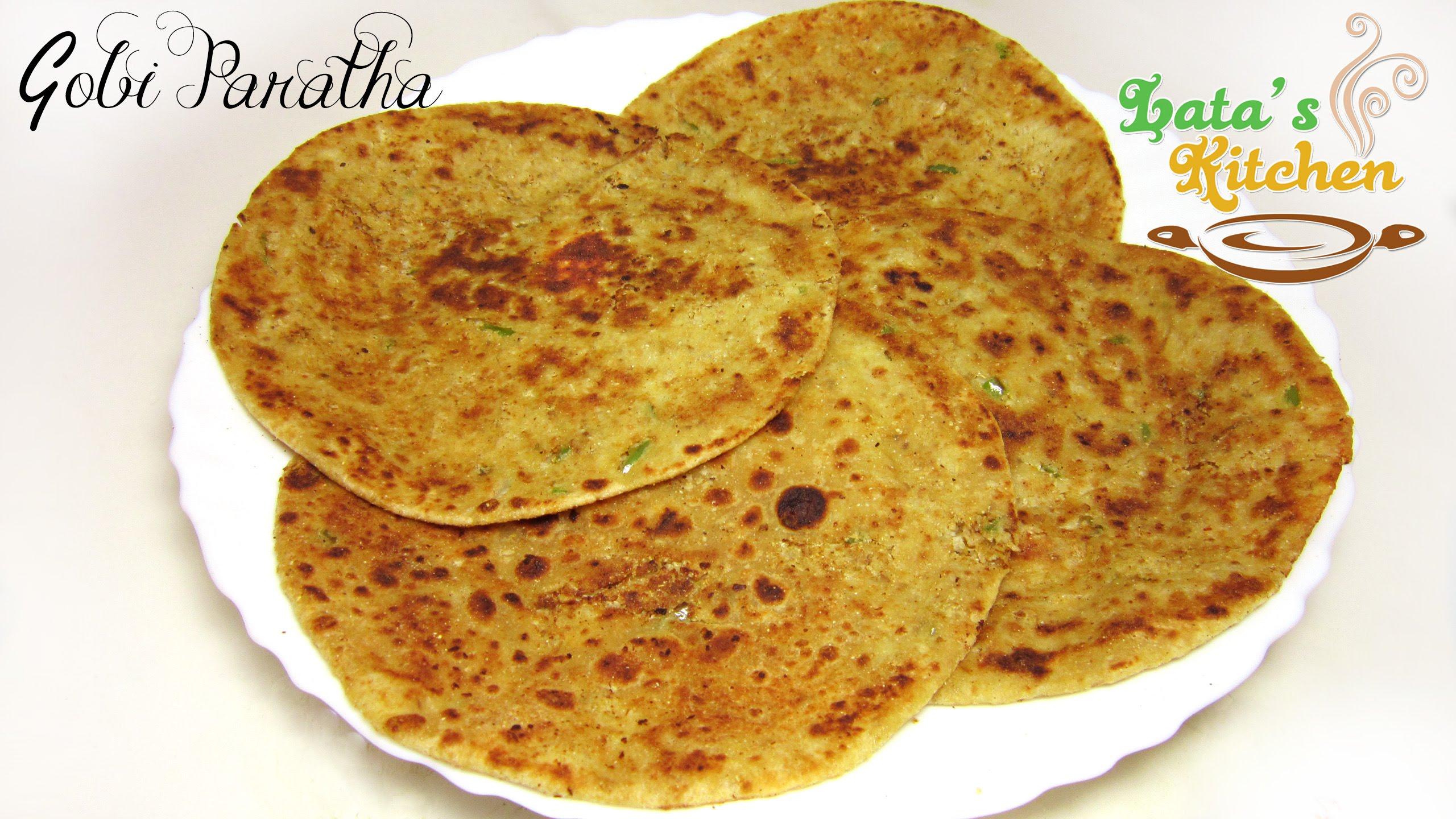 Gobi paratha recipe cauliflower stuffed indian flatbread gobi paratha recipe cauliflower stuffed indian flatbread vegetarian recipe video in hindi justrightfood forumfinder Images