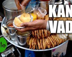 Indian Street Food Kanji Vada Making
