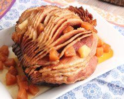 Pineapple Brown Sugar Slow Cooker Ham | Episode 1147