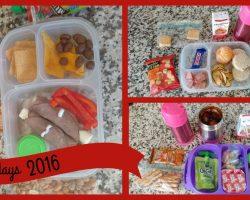 School Lunch Ideas! Back To School Ep.15 | Vlogidays 2016