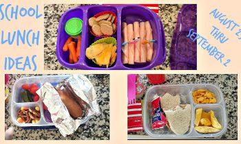 School Lunch Ideas! Back To School Ep.2