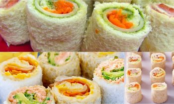 Sandwich Rollups or Pinwheels – Bread Sushi – Kid's Video Recipes – Perfect Summer Recipe