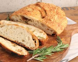 Asiago and Roasted Garlic Bread Recipe | Episode 1204