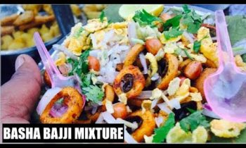 HAVE YOU EVER TRIED BAJJI MIXTURE | INDIAN FOOD | BASHA BAJJI