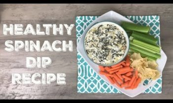 2 Smart Point Spinach Dip | Weight Watchers Friendly Side Dishes COLLAB