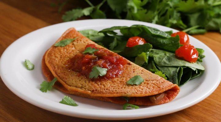 Chickpea Flour Omelet