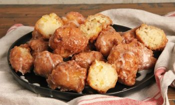 Peach Fritters with Whisky Glaze | Ep. 1275