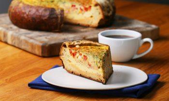 Bread Bowl Quiche