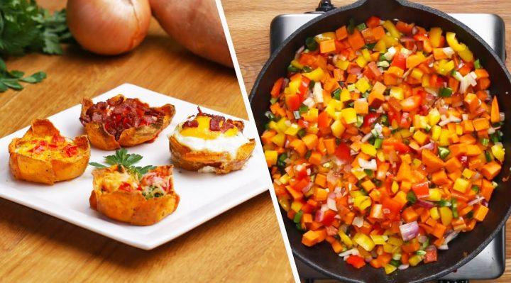 4 Sweet Potato Breakfasts