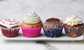 Vegan Cupcakes 4 Ways