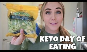 FULL DAY OF KETO EATING | The BEST Easy Keto Side Dishes!