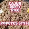 KETO – Cajun Dirty Rice – Popeye's Style! – Keto Side Dish