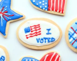 Voting Party Cookies