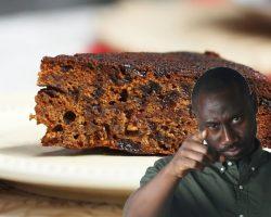Trinidad Black Cake As Made By Kwesi