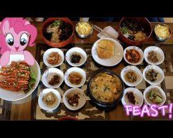 Mukbang : 13 Korean Side Dishes   Eat With Us