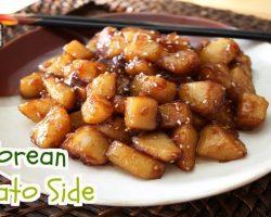 Korean Potato Side (감자 조림, GamJa JoRim) | Aeri's Kitchen