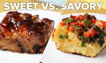 Breakfast Bake 2 Ways: Sweet Vs Savory • Tasty