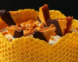 Bubble Wrap Honeycomb Cake • Tasty