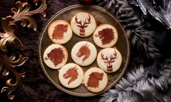 Game Of Thrones Stencil Cookies • Tasty