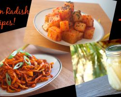 Korean Radish 3 Ways! Kimchi, Pickles and Side Dish Recipes