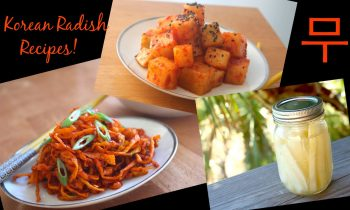 Korean Radish 3 Ways! Kimchi, Pickles and Side Dish Recipes