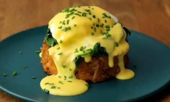 Hash Brown Benedict • Proper Tasty
