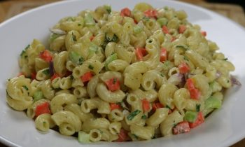 How to make Macaroni Salad – Side Dishes – Easy Recipe