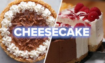5 Creamy And Chocolatey Cheesecake Recipes • Tasty