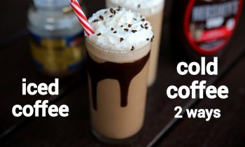 cold coffee recipe 2 ways | cold coffee milkshake with chocolate | कोल्ड कॉफ़ी रेसिपी