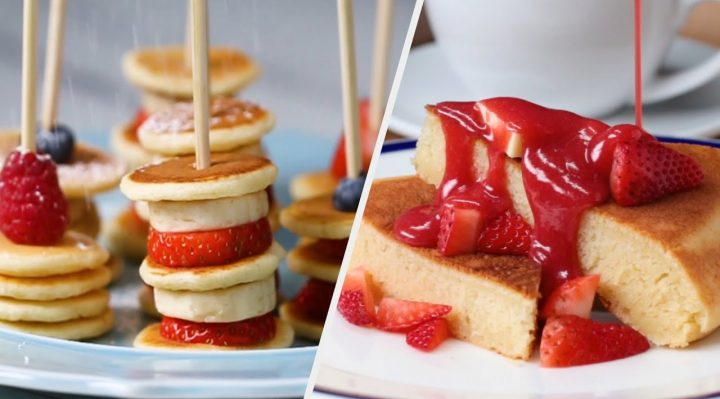 10 Pancake Stacks You Won't Be Able To Resist • Tasty