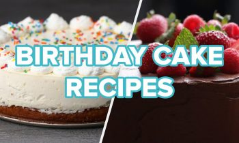 5 Cakes To Bake For A Birthday Party • Tasty