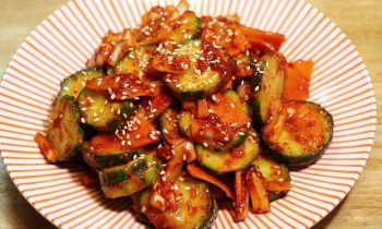 Cucumber Salad -spicy sour and sweet-side dish