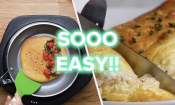Fluffy And Easy Golden Omelette Recipes • Tasty