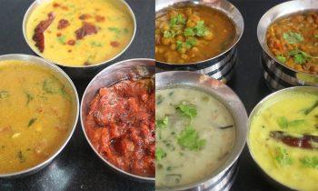 10 வகை Side dish | தினமும் புதிய சுவையில் | 10 varieties of Side Dish Idli Rice Dosa Chapathi